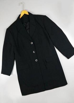 Пиджак удлиненный на пуговицах спереди / легкий тренч ann harvey большого размера батал