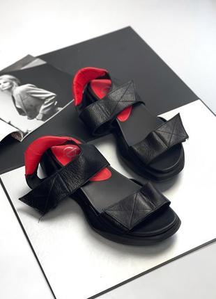 Новые сандали натуральной кожи (39-40)