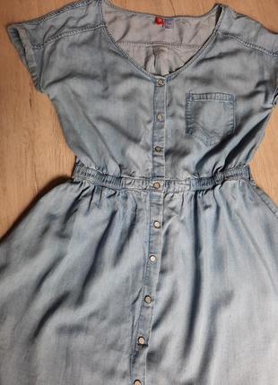 Джинсовый сарафан , джинсовое платье