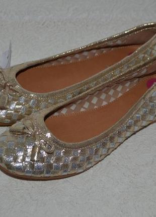 Новые туфли балетки carvela кожа 23.5 37 размер англия
