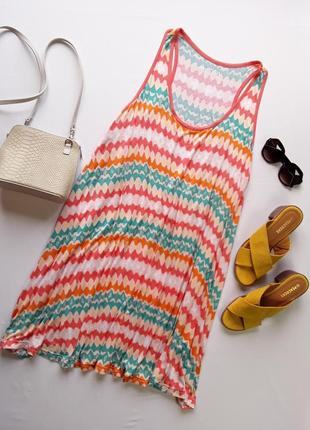 Милое трикотажное платье