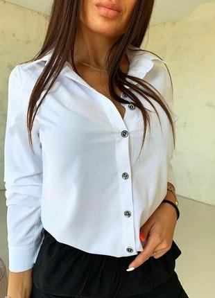 Женская рубашка, белая рубашка