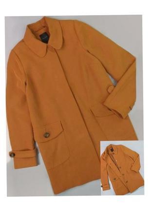 Пальто кемел базовое new look