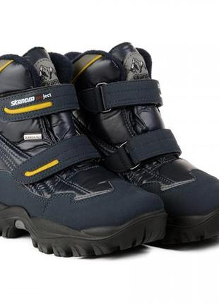 Skandia чоботи на хлопчика розмір 34-38 виробник італія оригінал/ сапоги детские на мальчика скандия