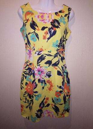 🌺 🌿 🍃 яркое платье натуральная ткань /хлопок 🌺 🌿 🍃
