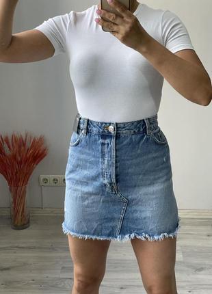 Юбка джинсовая n&m