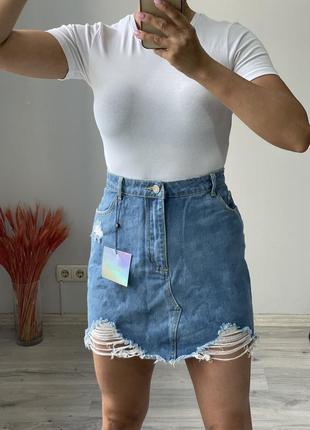 Юбка джинсовая misguided