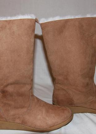 Зимние сапоги ботинки h&m швеция новые 40р