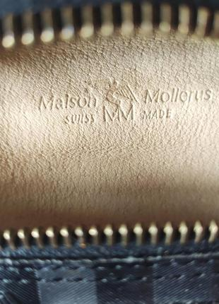 "Стильная сумка ""бананка"" maison mollerus (оригинал)5 фото"