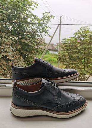 Кожаные туфли ecco hybrid st. 1, 44 размер