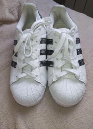 Adidas superstar cloud white black shoes s76924