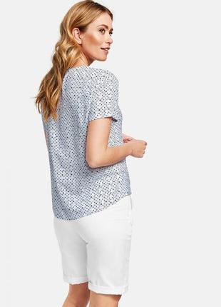 Легкая натуральная блуза топ р. 54