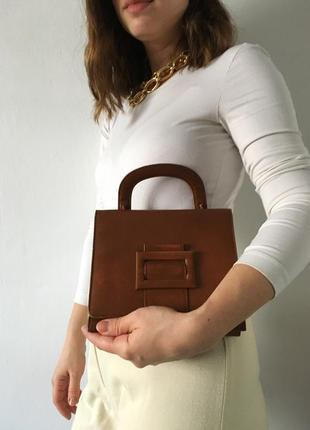 Винтажная сумка в стиле jacquemus the row old celine