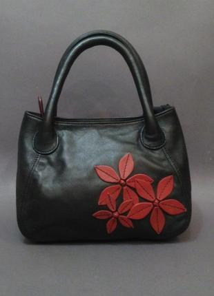Красивая сумка натуральная кожа genuine leather