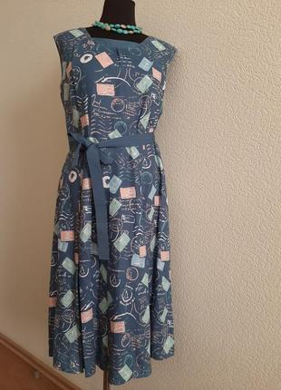 Чудесное платье laura ashley лен