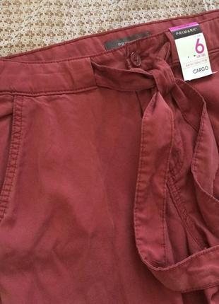 Стильные брюки карго тенсел primark