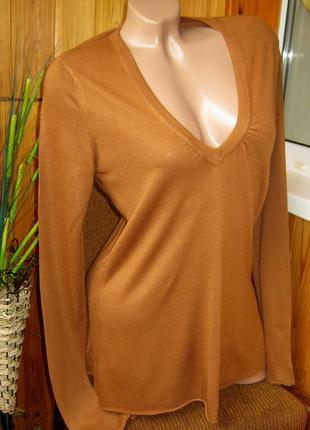 Распродажа замечательный пуловер - размер м - zuiki, италия