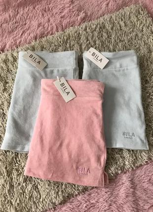 Велюровая юбка-шорты bila london4 фото