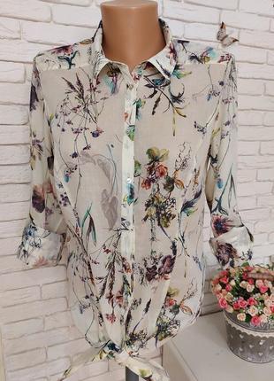 Тонкая батистовая блуза gdm,p.s-m