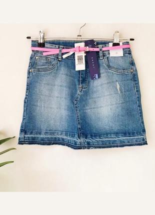 Джинсова спідниця / джинсовая юбка idexe