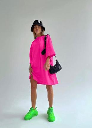 Платье-футболка oversize