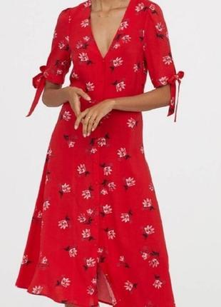 Платье в цвети h&m пдаття сукня легка