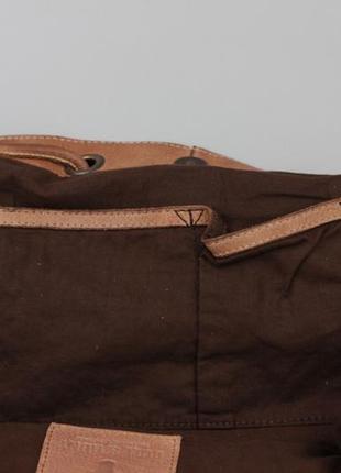 Фирменная кожаная сумка через плечо bull&hunt7 фото