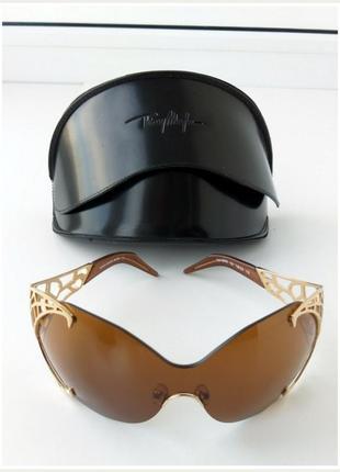 Элитные солнцезащитные очки thierry mugler оригинал золото