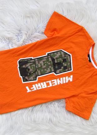 Стильная футболка george minecraft