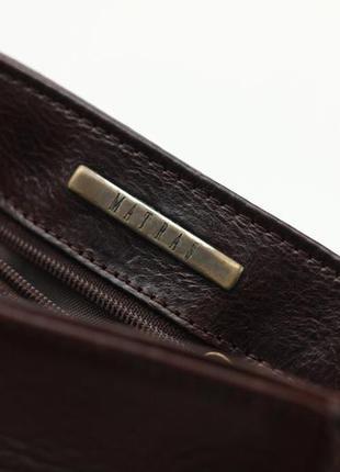 Фирменная кожаная сумка крос боди matras4 фото