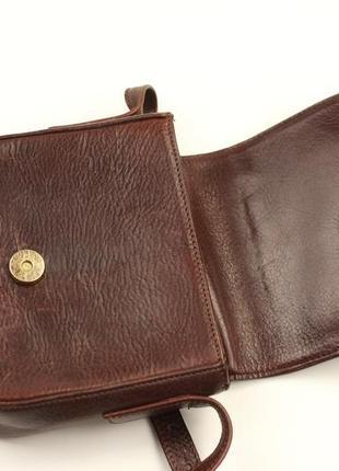 Фирменная кожаная сумка крос боди matras3 фото