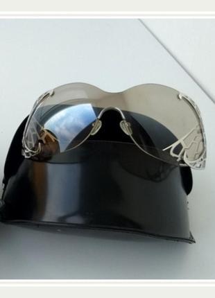 Элитные солнцезащитные очки thierry mugler оригинал серебро
