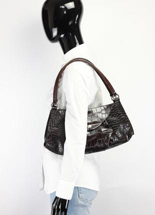 Фирменная оригинальная кожаная сумка