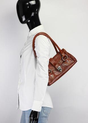 Фирменная кожаная сумка италия liebeskind vera pelle