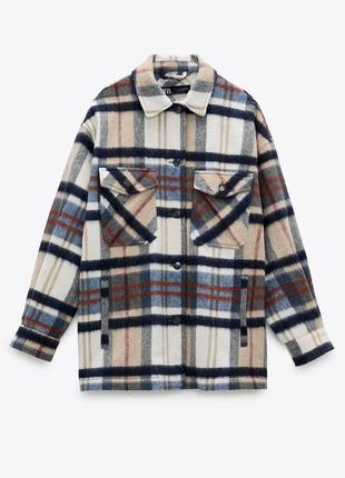 Фирменная рубашкк куртка zara