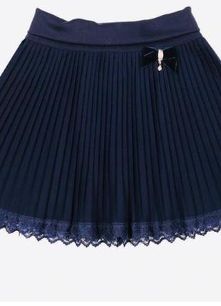 Школьная юбка mone 1616 гофре