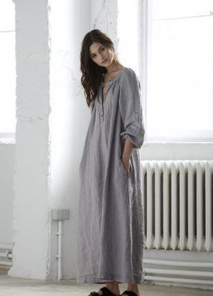 Нове.плаття льон люкс бренду nobonu linen dress оригінал
