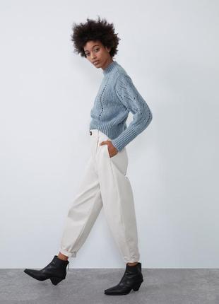 Трендовые стильные брюки zara