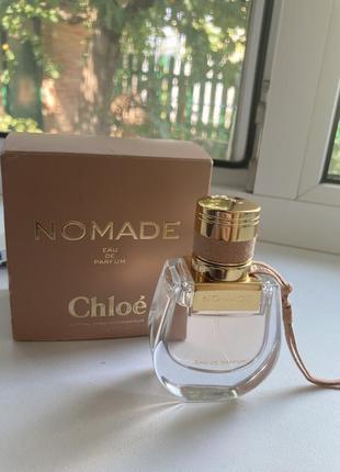 Chloe nomade оригинал 30 ml привезён с израиля edp