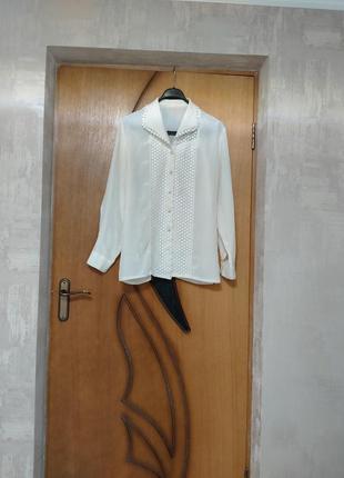 Блуза в викторианском стиле, блузка в школу, молочная блузка, рубашка, рюши,