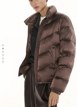 Стеганая куртка massimodutti оригинал р.м