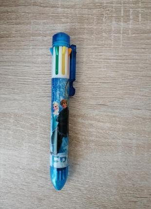 Ручка авторучка фрозен на 8  кольорів