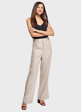 Широкие брюки,штаны,палаццо,лен,pa