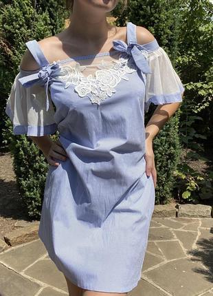 Распродажа летнее платье сеточка