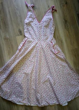 Шикарное летнее платье, сарафан, хлопок