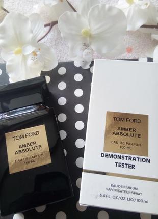 Парфюм тестер парфюмированная вода amber absolute 100 ml