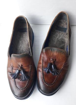 Мега легкие кожаные туфли