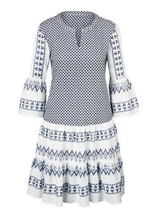 Платье летнее размер 48-50 наш tchibo тсм