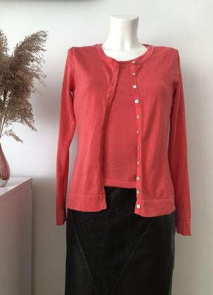 Стильний подвійний  светер светрик кардиган свитер