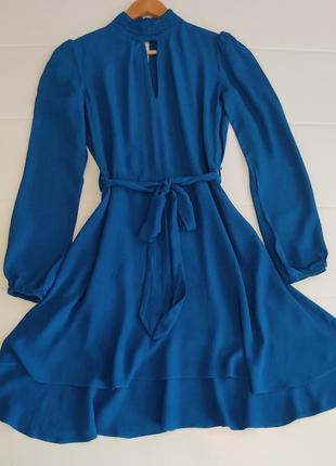 Красивое вискозное платье р. s, xs